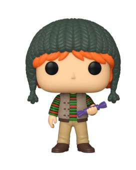 Bobble Figure Harry Potter Holiday POP! - Ron Weasley