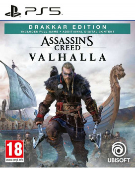 PS5 Assassin's Creed Valhalla Drakkar Special Day1 Edition