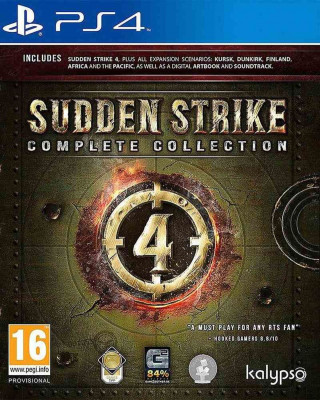 PS4 Sudden Strike 4 - Complete Collection