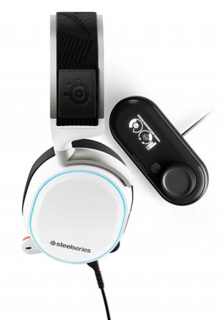 Slušalice Steelseries Arctis Pro - White + DAC