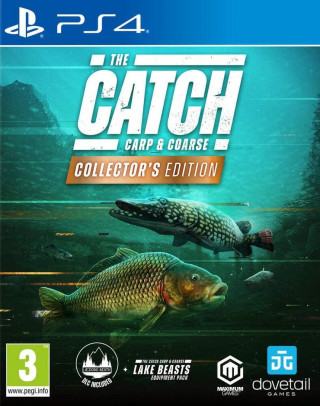 PS4 The Catch - Carp & Coarse - Collector's Edition