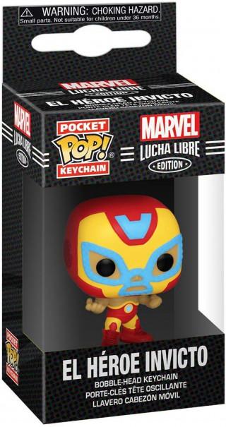 Privezak Pocket Pop! Marvel Lucha Libre - Iron Man