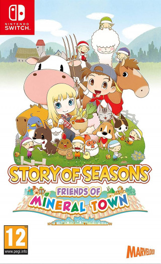 Switch Story Of Seasons - Friends of Mineral Town