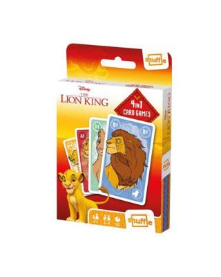 Društvena Igra The Lion King - 4 in 1 - Card Games