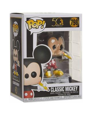 Bobble Figure Disney Archives Pop! - Classic Mickey