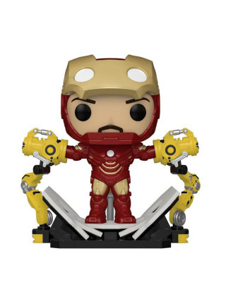 Bobble Figure Marvel POP! - Iron Man With Gantry - Deluxe Edition
