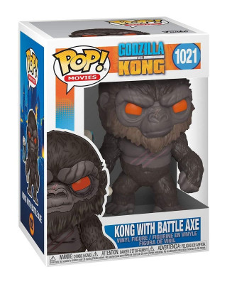 Bobble Figure Movies POP! Godzilla vs Kong - Kong With Battle Axe