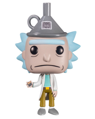 Bobble Figure Rick and Morty POP! - Rick With Funnel Hat - Special Edition