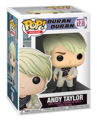 Bobble Figure Rocks POP! Duran Duran - Andy Taylor