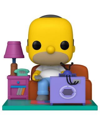 Bobble Figure Simpsons POP! - Homer Watching TV