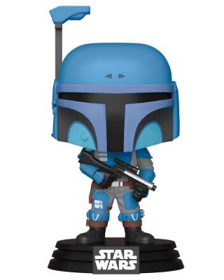 Bobble Figure Star Wars The Mandalorian POP! - Death Watch Mandalorian - Two Stripes