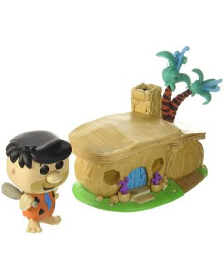 Bobble Figure The Flinstones Pop! - Fred Flintstone With House