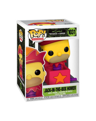Bobble Figure The Simpsons Pop! - Homer Jack-in-the-Box
