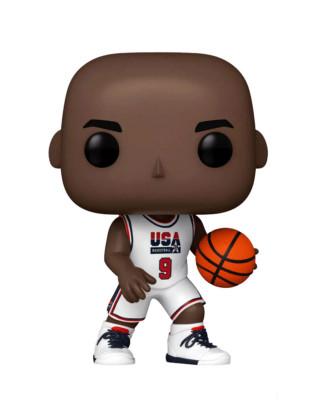 Bobble Figure USA Basketball Pop! - Michael Jordan - White - Special Edition