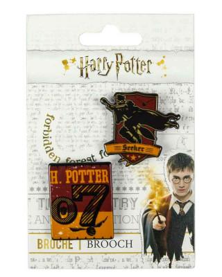 Bedž Harry Potter - Quidditch