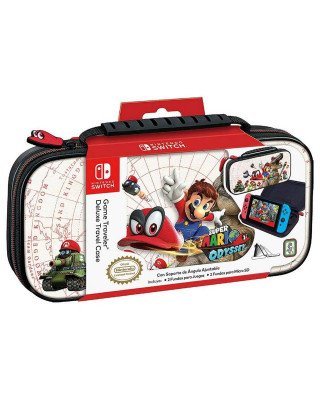 Deluxe Travel Case Super Mario Odyssey White