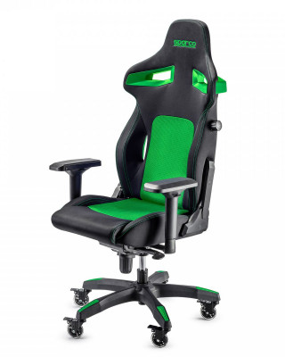 Gaming Stolica Sparco STINT Black / Green