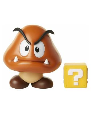 Mini Figure World of Nintendo - Goomba + Mystery Box