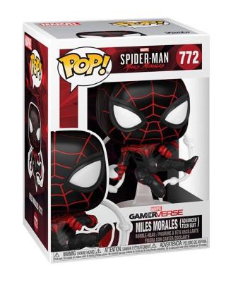 Bobble Figure Marvel Gamerverse POP! - Miles Morales - Advance Tech Suit