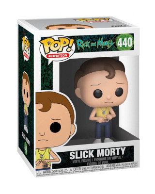 Bobble Figure Rick & Morty Animation POP! - Slick Morty