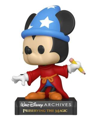 Bobble Figure Disney Archives Pop! - Sorcerer Mickey
