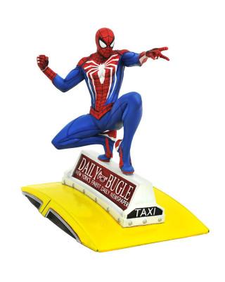 Statue Marvel GamerVerse - Spider-Man On Cab