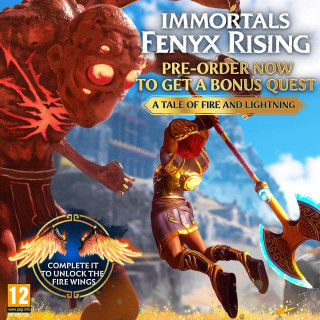 PS4 Immortals Fenyx Rising Shadowmaster Special Day1 Edition