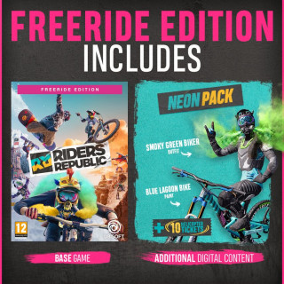 PS4 Riders Republic Freeride Special Day1 Edition