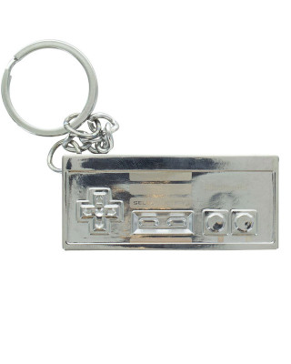 Privezak Nintendo NES 3D Metal Keyring