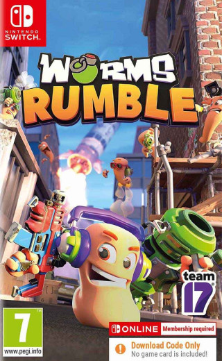 Switch Worms Rumble - Fully Loaded Edition