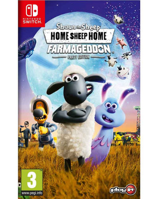 Switch Shaun the Sheep - Home Sheep Home 2 (code in box)
