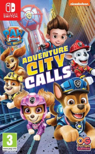 Switch Paw Patrol Adventure City Calls