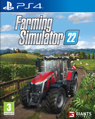 PS4 Farming Simulator 22
