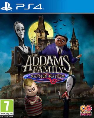PS4 The Addams Family - Mansion Mayhem