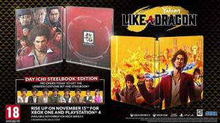 PS4 Yakuza - Like A Dragon - Day Ichi Edition
