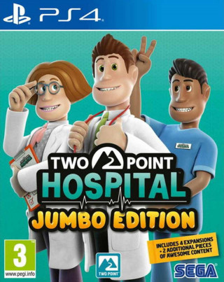PS4 Two point Hospital - Jumbo Edition