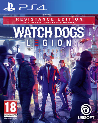 PS4 Watch Dogs - Legion Resistence Edition