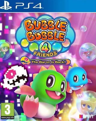 PS4 Bubble Bobble 4 Friends The Baron is Back