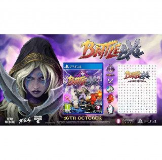 PS4 Battle Axe - Badge Collectors Edition