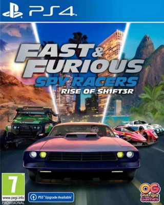 PS4 Fast & Furious Spy Racers - Rise of SH1FT3R