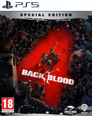 PS5 Back 4 Blood Steelbook Special Edition - Day One