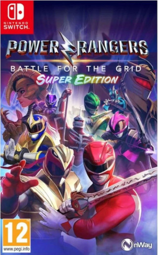Switch Power Rangers - Battle For The Grid - Super Edition