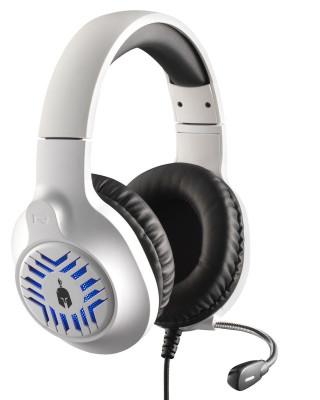 Slušalice Spartan Gear Medusa - White/Black
