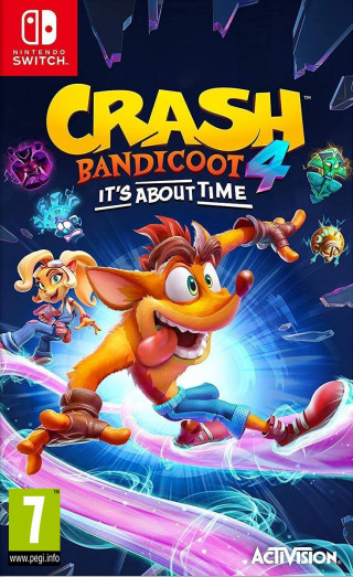 Switch Crash Bandicoot 4 - It's About Time
