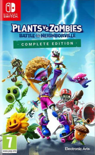 Switch Plants vs. Zombies - Battle For Neighborville - Complete Edition