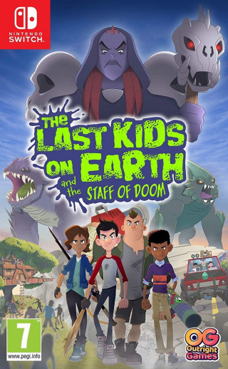 Switch The Last Kids On Earth And The Staff Of Doom