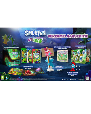 Switch The Smurfs - Mission Vileaf Collectors Edition