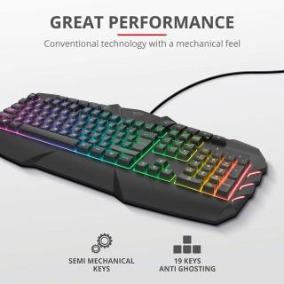 Tastatura Trust GXT 881 Odyss