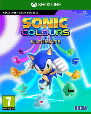 XBOX ONE XSX Sonic Colours Ultimate Launch Edition