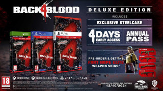 XBOX One XBSX Back 4 Blood Deluxe Edition
